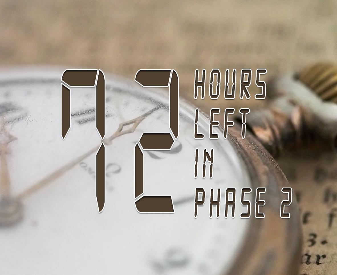72 HOURS LEFT IN HCG DIET PHASE 2