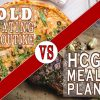 OLD EATING ROUTINE VS HCG MEAL PLAN