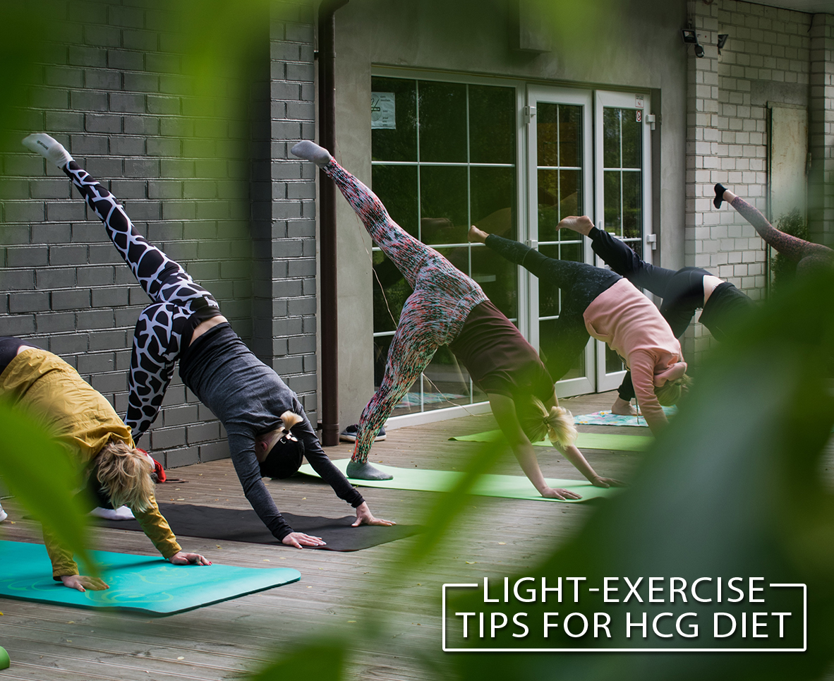 LIGHT-EXERCISE TIPS FOR HCG DIET