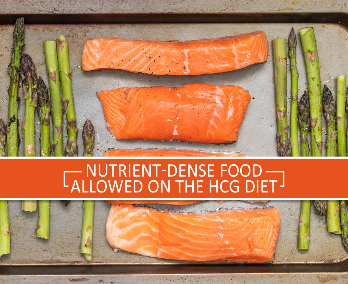 NUTRIENT-DENSE FOOD ALLOWED ON THE HCG DIET