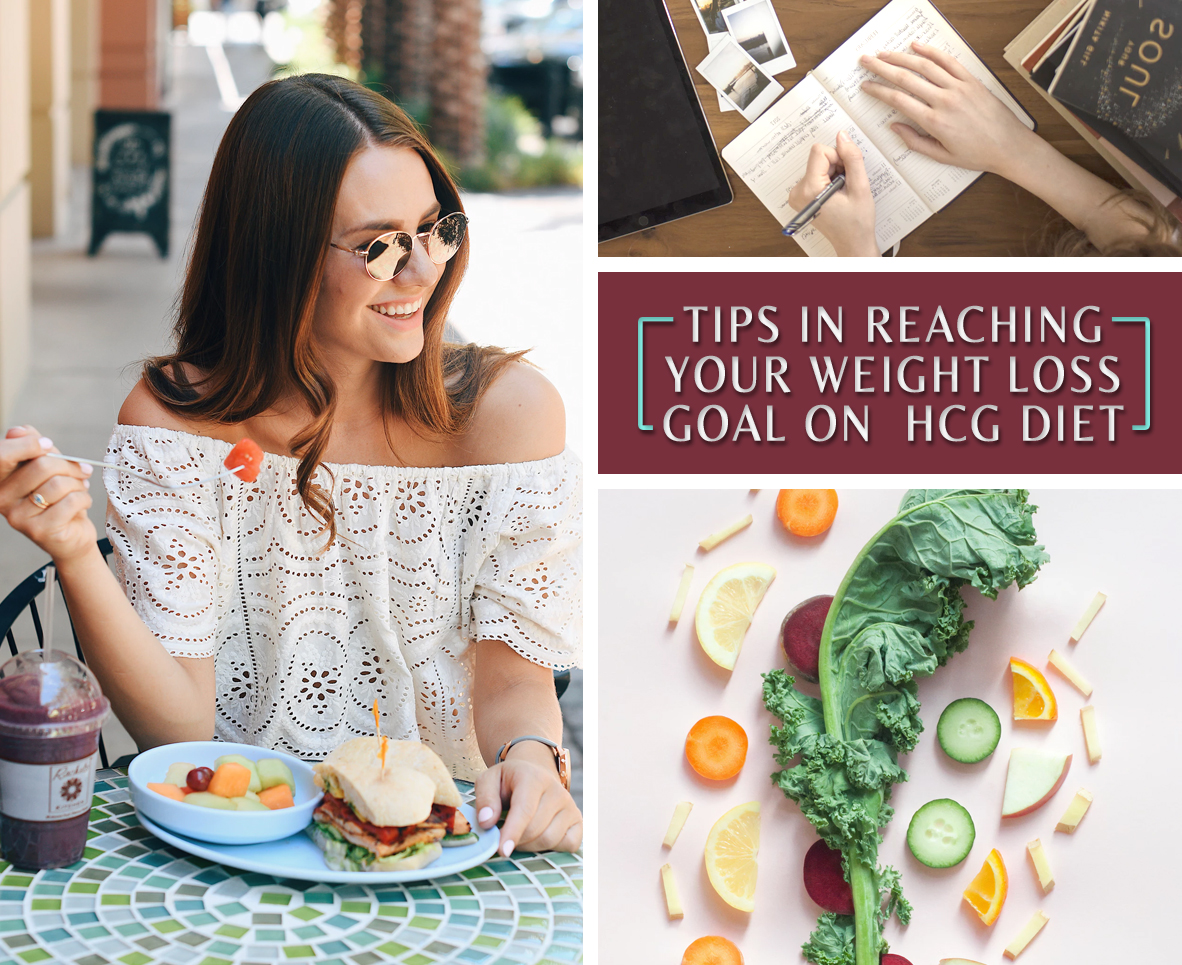 TIPS IN REACHING YOUR WEIGHT LOSS GOAL ON HCG DIET