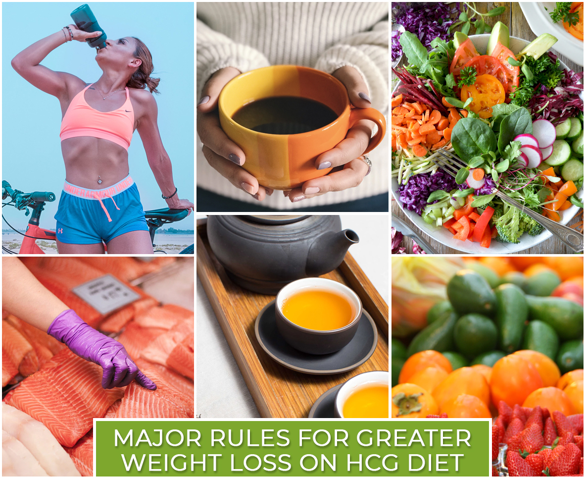 MAJOR RULES FOR GREATER WEIGHT LOSS ON HCG DIET