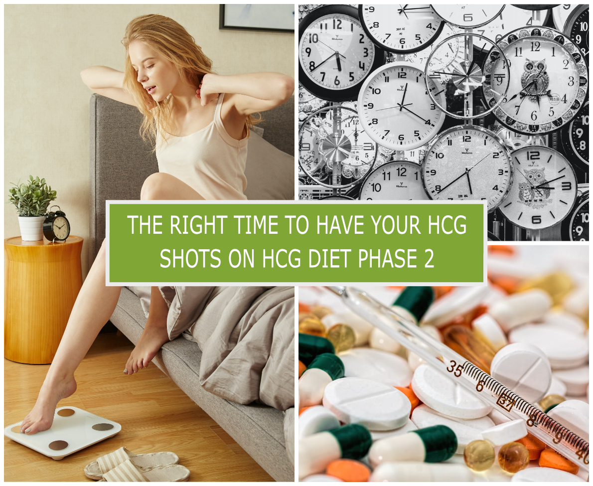 THE RIGHT TIME TO HAVE YOUR HCG SHOTS ON HCG DIET PHASE 2