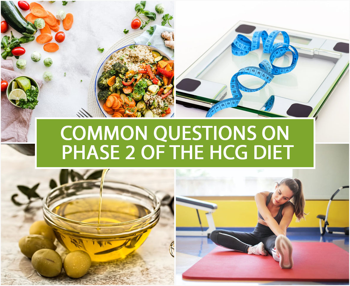 COMMON QUESTIONS ON PHASE 2 OF THE HCG DIET