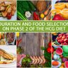 DURATION AND FOOD SELECTION ON PHASE 2 OF THE HCG DIET
