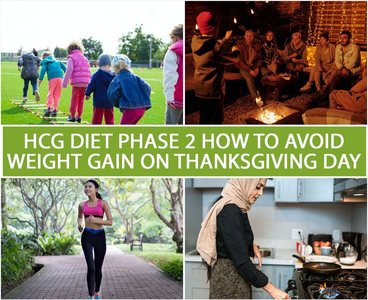 HCG DIET PHASE 2: HOW TO AVOID WEIGHT GAIN ON THANKSGIVING DAY?