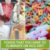 FOODS THAT YOU HAVE TO ELIMINATE ON HCG DIET